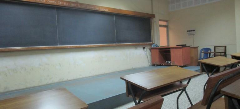 Beginn der Vorlesungszeit