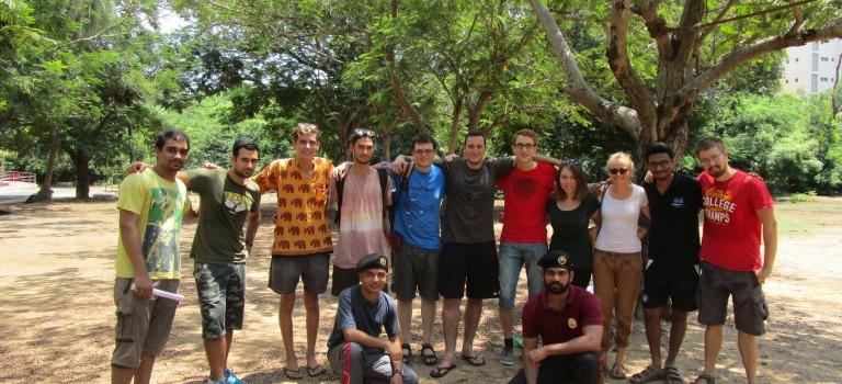 iPALs Outdoor Team/Vertauens Training